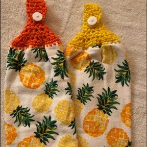 Handmade Kitchen Towels hand wipers